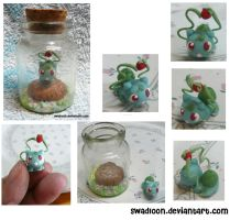 Bulbasaur In a Bottle by Swadloon