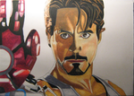 Tony becomes Iron Man by BabyVegeta
