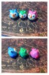 Owl Charms (for sale) by ZombiDJ