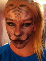 Tiger Makeup by DrunkCatHugs