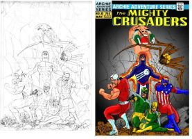 Crusaders before and after by Gwhitmore