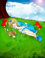 Alice, The Sleeper by Hoshi-Wolfgang-Hime