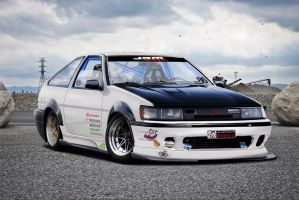 Toyota  AE86 by roleedesign