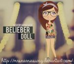 NEVER SAY NEVER - Belieber Doll. by MrsNarniaSwag