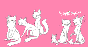 Cat group base by Bunnys-butts