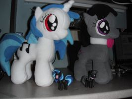 Filly Musicians (Octavia for Sale, Vinyl SOLD) by SamalaKatal