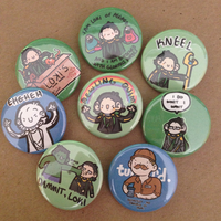 Loki Pin Set by geothebio