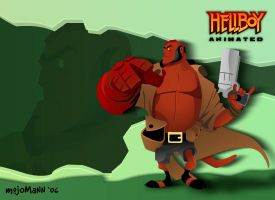 Hellboy Animated Revealed by mojomann