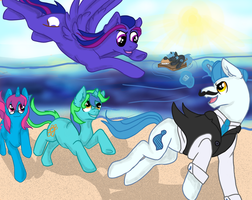 A Day at The Beach: Come And Get It - YOCS by skylarbrant14