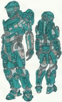 Dead Space New Suit Halo 4 by DBZ2010