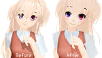 MMD - Did You Know - Before and After 3 [Akari] by xinshin