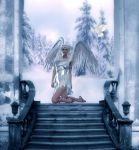 Winter Angel by QueenOftheNight341