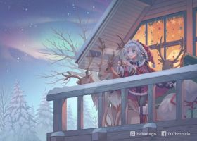 Merry Christmas from the Arctic by yoida