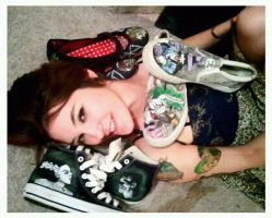 Shoe Lady by LaurenWiles