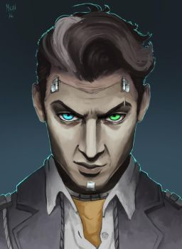 Handsome Jack by Sonen89