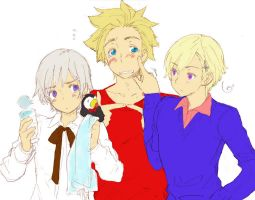 Denmark, Norway and Iceland by Harucchan