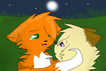 Firestorm and Willowleaf - .:Confession:. by SilverKitti