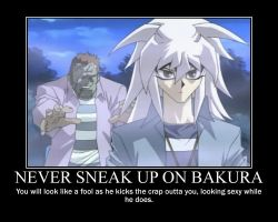 Never Sneak Up On Bakura... by toshiku101