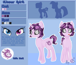 Glimmer Spirit reference sheet by Cha-squared