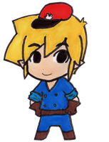 Chibi Link - Spirit Tracks by EasterEgg23