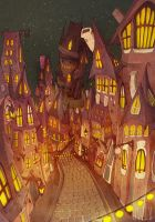 Dancing houses by o-w-l-y