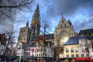 Cathedral of Our Lady, Antwerpen by roman-gp