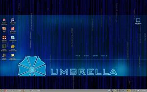 My Current Umbrella Desktop by timesplitter88