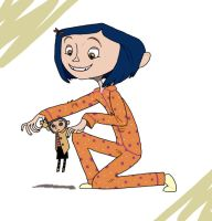 Coraline - Little Me by Graystripe64