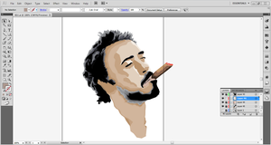 WIP #2: Robert Downey Jr. Polygons by SomeElixer