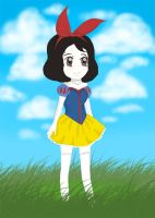 Snow-white-animation by tevyclemmons