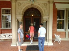 Entering Ellwood House 1 by Windthin