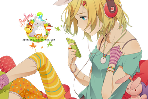 Kagamine by xBonbons