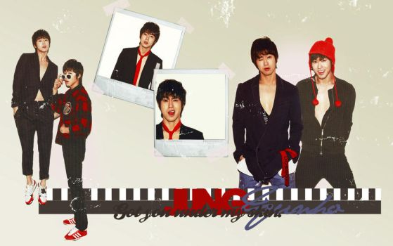 Jung Yunho Wallpaper. by NiiaChaan