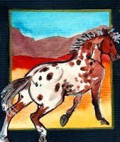 Spotted Dreams ACEO 7 by jupiterjenny