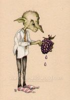 The Goblin's Blackberry by WildWoodArtsCo