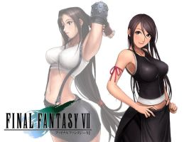 tifa lockheart by drageta