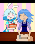 Collab_Baking is fun by Music-X-Rose