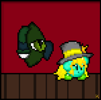 Naci and Mari as a sprite by AnarchyAngel91