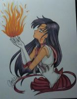 sailor mars by xXChrissy87Xx