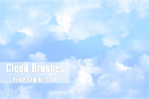 Cloud Brush Pack by brushgroup