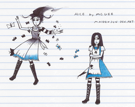 Alice doodles by MaidenJun
