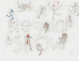 Regular Show Collage by regularshow96