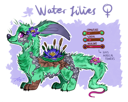Water Lilies Truffler AUCTION [CLOSED] by Fayven