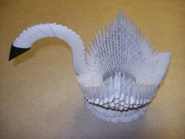 Origami Swan by Rescue-Is-Possible