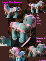 Pink Jingle Bell Harness by Bumblesweet