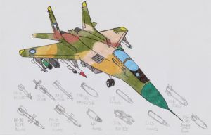 MIG-29S VERY ARMED now by DingoPatagonico