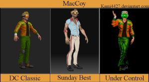 MacCoy - all outfits by Kami4427