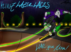 Kinz: Lazer Laces by InvaderSonicMx