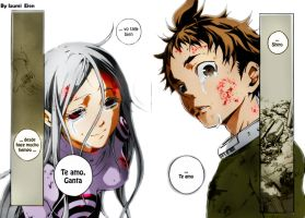 Deadman WonderLand - Shiro x Ganta by IzumiEien