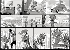 Story boards by ticklemeclovers